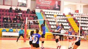 TVF 2. Lig: Elazığ Belediyesi Voleybol: 3 - Mehmet Akif Ersoy MTAL: 0