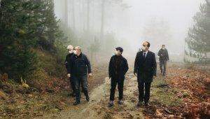 Vali Aktaş, bal ormanları proje sahasını gezdi