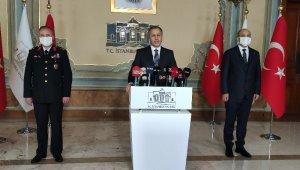 """Vali Yerlikaya: """"Sultanahmet Meydanı ve İstiklal Caddesi'ne, yabancı turistler de dahil olmak üzere girişler sınırlandırılacaktır"""""""