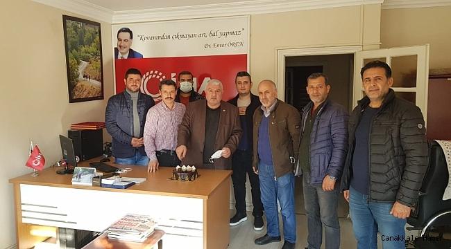 10 Ocak Gazeteciler Gününü pasta keserek kutladılar