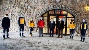 112 Acil Sağlık İstasyonu Erciyes'te Yeniden Hizmete Açıldı