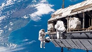2021 yılının ilk uzay yürüyüşü gerçekleştirildi
