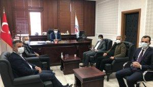 AGAD'dan İl Özel İdaresi Genel Sekreteri Işık'a ziyaret