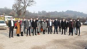"""Ak Parti Çan İlçe Başkanı Ömer Şahin """"Çan ilçemize yatırım hız kesmeden devam etmektedir"""""""