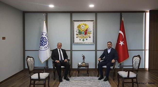 AK Parti Genel Başkan Yardımcısı Demiröz'den Biga Belediyesi'ne ziyaret