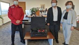 AKUT'un 4. sismik ve akustik dinleme cihazı Denizli ekibine bağışlandı