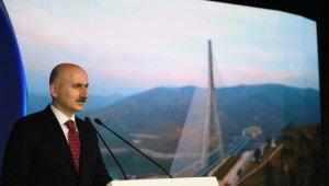 Bakan Karaismailoğlu 2020 yılında yapılan dev projeleri anlattı