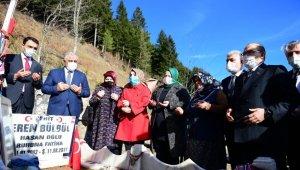 Bakan Zehra Zümrüt Selçuk şehit Eren Bülbül'ün mezarını ziyaret etti