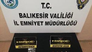 Balıkesir'de polisten uyuşturucu operasyonu