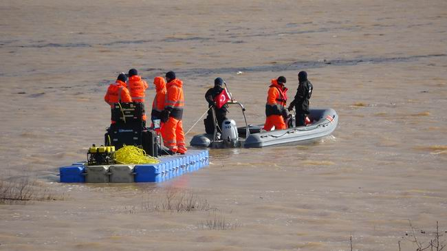 Baraj suyuna kapılan otomobilin yeri tespit edildi