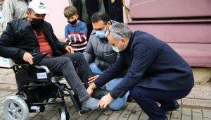 Başkan Çerçioğlu'nun yardımıyla gün yüzü gördü