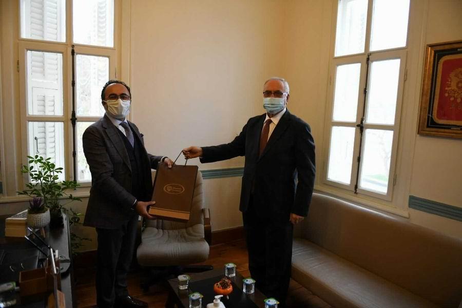 Başkan Gökhan'dan yeni atanan müdüre ziyaret