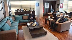 Başkan Gökhan, Vali Aktaş'ı ağırladı
