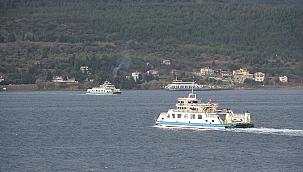 Bazı Bozcaada feribot seferleri iptal