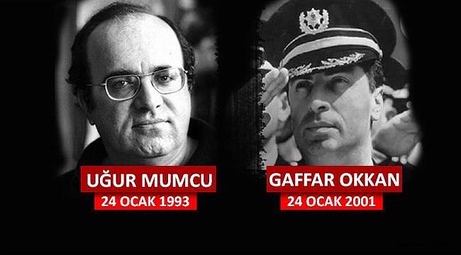 Belediye Başkanı Ülgür Gökhan'ın Uğur Mumcu ve Gaffar Okkan'ı anma mesajı