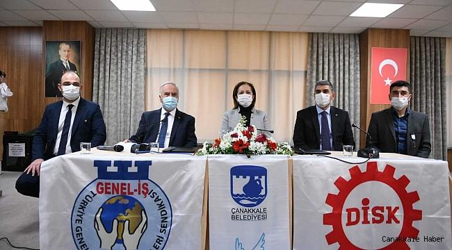 Belediye çalışanlarının iş sözleşmesi mücadelesi sonuca bağlandı