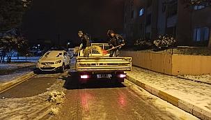 Biga'da kar etkili oldu