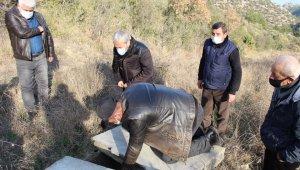 Bilecik'teki doğal kaynaklardan su arama çalışmaları başlatıldı