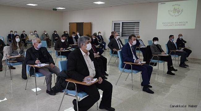 Burdur Belediye Meclisinden Esnafa Destek