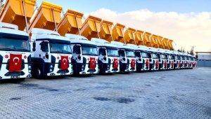 Büyükşehir belediyesi araç filosu her geçen gün büyüyor