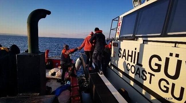 Çanakkale'de 204 göçmen yakalandı