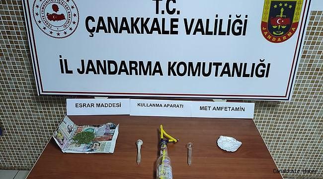Çanakkale'de uyuşturucuya yer yok