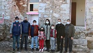 Çanakkale kahramanı Yahya Çavuş'un evine ziyaret