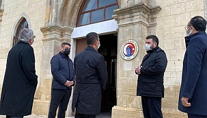 Çanakkale Onsekiz Mart Üniversitesi Tasavvuf Topluluğu Vali Aktaş'ı ağırladı