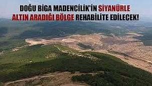 Çanakkale Orman Müdürlüğü: Altın aranan bölge rehabilite edilecek