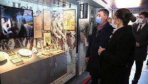 Çanakkale ruhunu hatırlatan mobil müzeye büyük ilgi