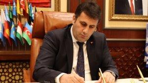 Çat Belediye Başkanı Melik Yaşar 10 Ocak Çalışan Gazeteciler Günü'nü kutladı