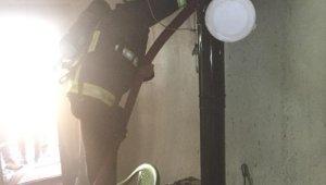 Çatak'ta ev yangını