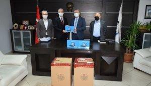 Çaycuma'da 55 öğrenci için tablet temin edildi