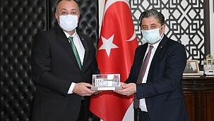 ÇTSO Başkanı Semizoğlu'ndan Bayramiç Belediyesine ziyaret