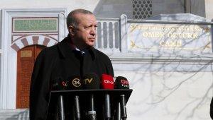 """Cumhurbaşkanı Erdoğan ABD'deki kanlı kongre baskını ile ilgili, """"Tüm insanlığı şoke etmiştir, şaşırtmıştır. Bizleri de aynı şekilde şaşırtmıştır"""""""