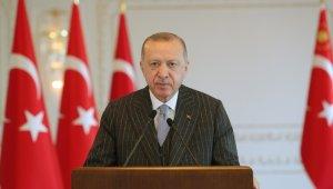 """Cumhurbaşkanı Erdoğan: """"2021 yılını her anlamda yeni bir şahlanış yılı haline getireceğiz"""""""