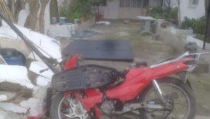 Davutlar'da trafik kazası: 1 ölü