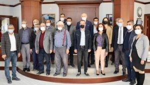 Didim Muhtarlar Derneği Başkan Atabay ile bir araya geldi