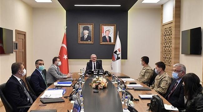 Diyarbakır'da afet müdahale planı toplantısı yapıldı