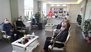 Gökçeada Kent Konseyi Başkanı Serttaş'tan Vali Aktaş'a ziyaret