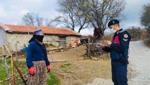 Gömeç'te suçlara karşı jandarma-vatandaş işbirliği