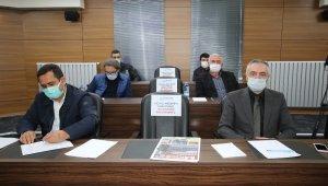 Hacılar'da 2021'in ilk meclis toplantısı yapıldı