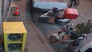 Hırsızlığın böylesi, çaldığı motosikletin yerine bisikletini bıraktı