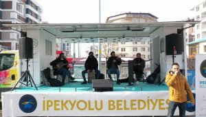 İpekyolu Belediyesinden moral konseri