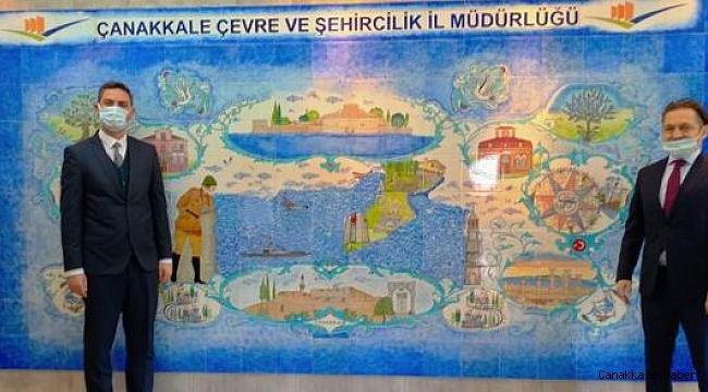 İşkur İl Müdürü Yavuz'dan Bekir Çelen'e ziyaret
