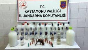 Jandarmadan kaçak alkol operasyonu: 1 kişi tutuklandı