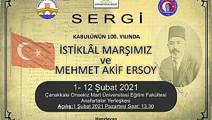 """""""Kabulünün 100. Yılında İstiklal Marşımız ve Mehmet Akif Ersoy"""""""