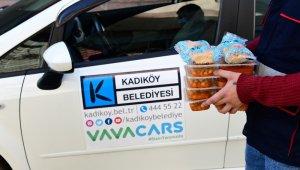 Kadıköy'de Covidli hastalara sıcak yemek
