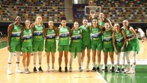 Kadınlar Basketbol Süper Ligi: İzmit Belediyespor: 113 - Samsun Canik Belediye: 47