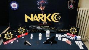 Karaman'da uyuşturucu operasyonu: 2 tutuklama